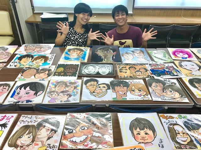 日本似顔絵アーティスト協会にインタビューをして頂きました